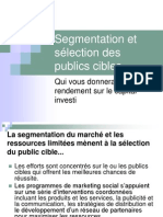 8 Segmentation and Target Audience Selection f