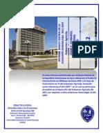 INFORME DE LA ECONOMÍA DOMINICANA 2011 - 2007