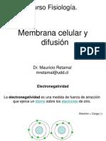 1 Membrana Celular y Difusion