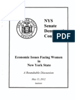 Roundtable on Economic Issues Facing Women
