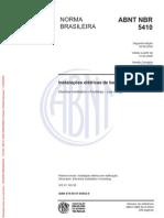ABNT - NBR - 5410