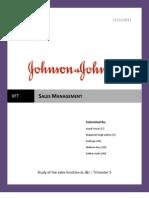 Sales Management Group 1