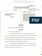 Michael Strayer and Karen Earle Indictment
