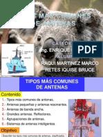 PPT Tipos Mas Comunes de Antenas TRABAJO