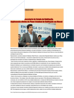 28.03 Diário Riostrense - Rafael Picciani, secretário de Estado de Habitação, implementa oficina do Plano Estadual de Habitação em Macaé