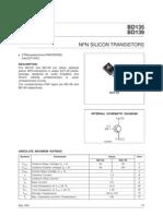 Transistor BD139