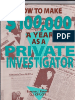 61700198 How to Make 100 000 a Year as a Private Investigator Paladin Press