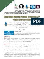 ___ Campeonato Nacional Absoluto 2012 ___