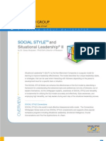 Social Style and Situational Leadership Whitepaper