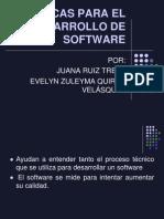 Metricas Para El Desarrollo de Software