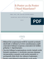 Akademik Poster Ya Da Poster Bildiri Nasil Hazirlanir 1291629847