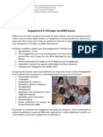 Engagement Etrangere ADRA Suisse FR