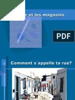 La Ville Et Les Magasins