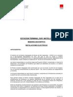 Memo Descriptiva Electr MUNIC LIMA