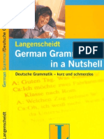 Langenscheidt - German Grammar in a Nutshell - 2002
