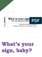 Zodiac Signs Board