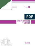 Unidad 6 Grafos Digrafos y Arboles