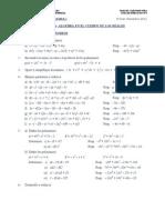 Fac EyE-UDP-Algebra I-Guía Nº2-A-Algebra en IR-1-2011