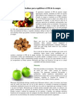 6 Frutas Alcalinas Para Equilibrar El PH de La Sangre