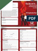 KFC UK Team Member Leader Form