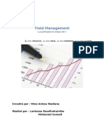 Yield Management Rapport