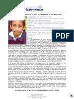 Invitación a audiencia de sentencia en caso de Daniel Armando Porras (10 años)