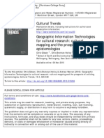 Gibson Et Al. 2010 Gis for Cultural Research
