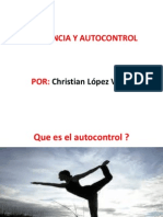 TOLERANCIA Y AUTOCONTROL