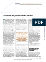 02 Oral Care Patients With Bulimia