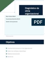 Diagnostico de Clima Organizacional