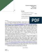 16 5 2012 dopis   Hrvatska odvjetnička komora