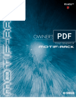 Motif Rack Owner's Manual
