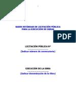Licitacion Publica para Ejecución de Obras