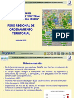 Plan to Territorial San Miguel- Foro to Territorial Cent Roam Eric A y Republica a