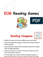 EOG Reading Games