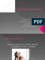 Nutrition and Stress1