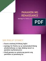 Panahon Ng Renaissance