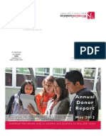 2012 Willow Glen Foundation Annual Report
