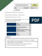 Ejemplo Planificacion de Simulacro Proyecto