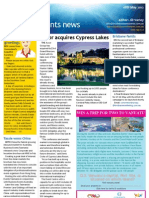 Business Events News for Fri 18 May 2012 - Cypress Lakes, Sendai\'s wild card, Fiji Now, MCEC and much more