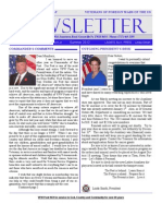 VFW Post 9639 Summer Newsletter