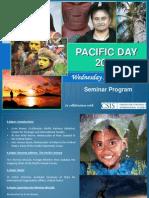 Pacific Day Seminar Program 2012