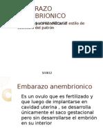 EMBARAZO ANEMBRIONICO