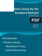 Protein Assay by the Bradford Method Finale