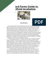 Gabbard Farms Guide to Incubation