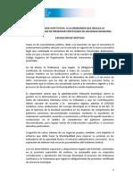 Ordenanza Sustitutiva a La Ordenanza Que Regula La Obligatoriedad de Presentar Certificado de Solvencia Municipal