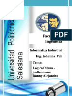 Informática Industrial - Aplicaciones del Control Difuso
