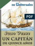 Un Capitán De 15 Años - Julio Verne.