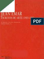 Lizama, P. 1992. Jean Emar. Escritos de arte (1923-1925). Santiago