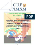 TRABAJO DE SOCIALIZACION 2010